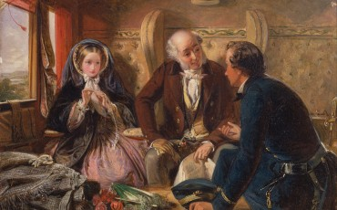 Abraham_Solomon_-_First_Class_-_The_Meeting