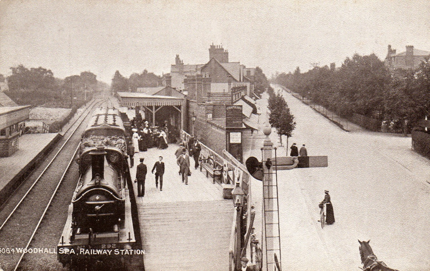 1855 Railway branch line Woodhall Spa