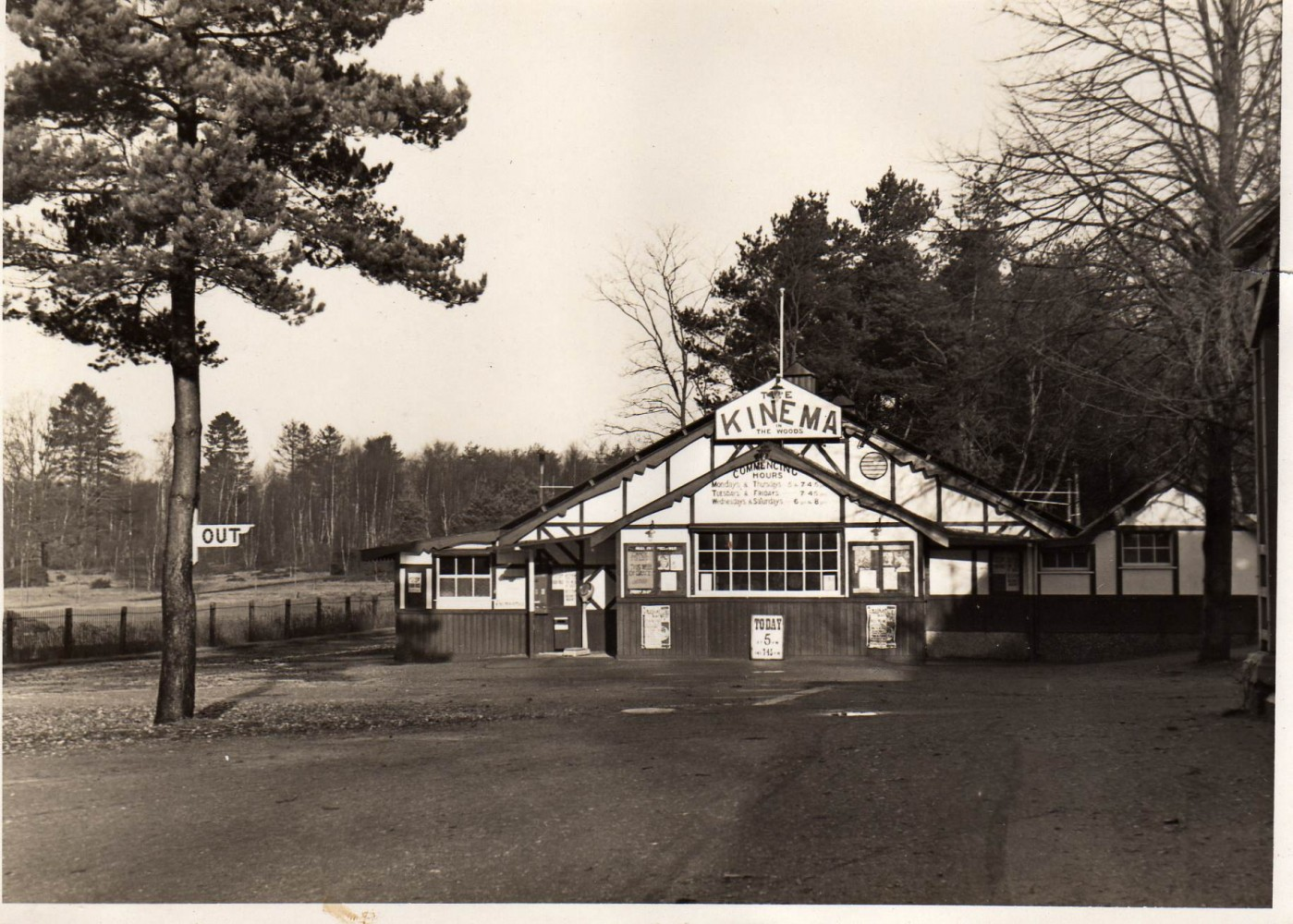 1922 Kinema In The Woods, Woodhall Spa