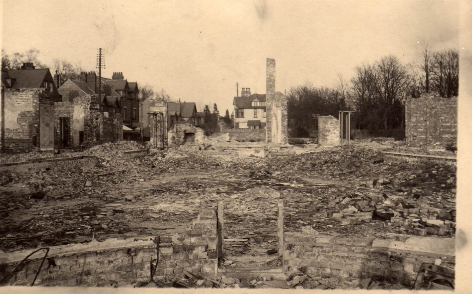 1943 Royal Hotel destruction Woodhall Spa