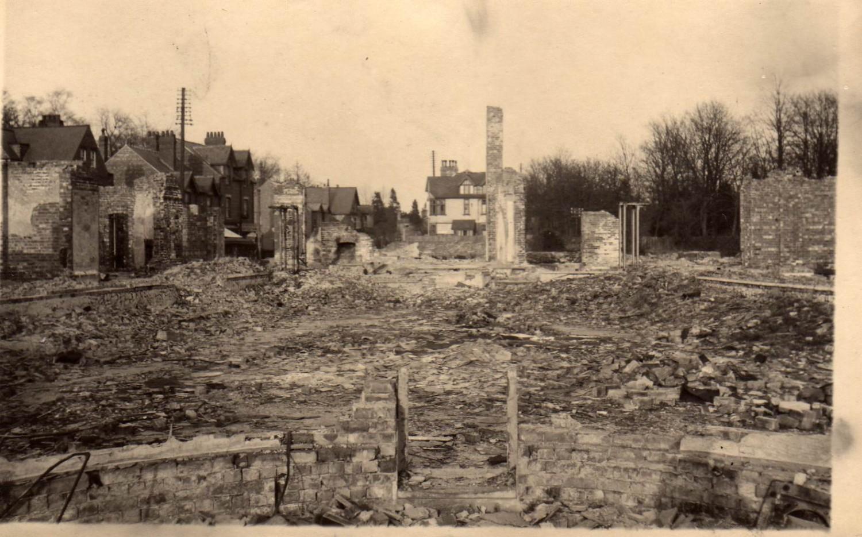 1943 Royal Hotel destruction Woodhall Spa