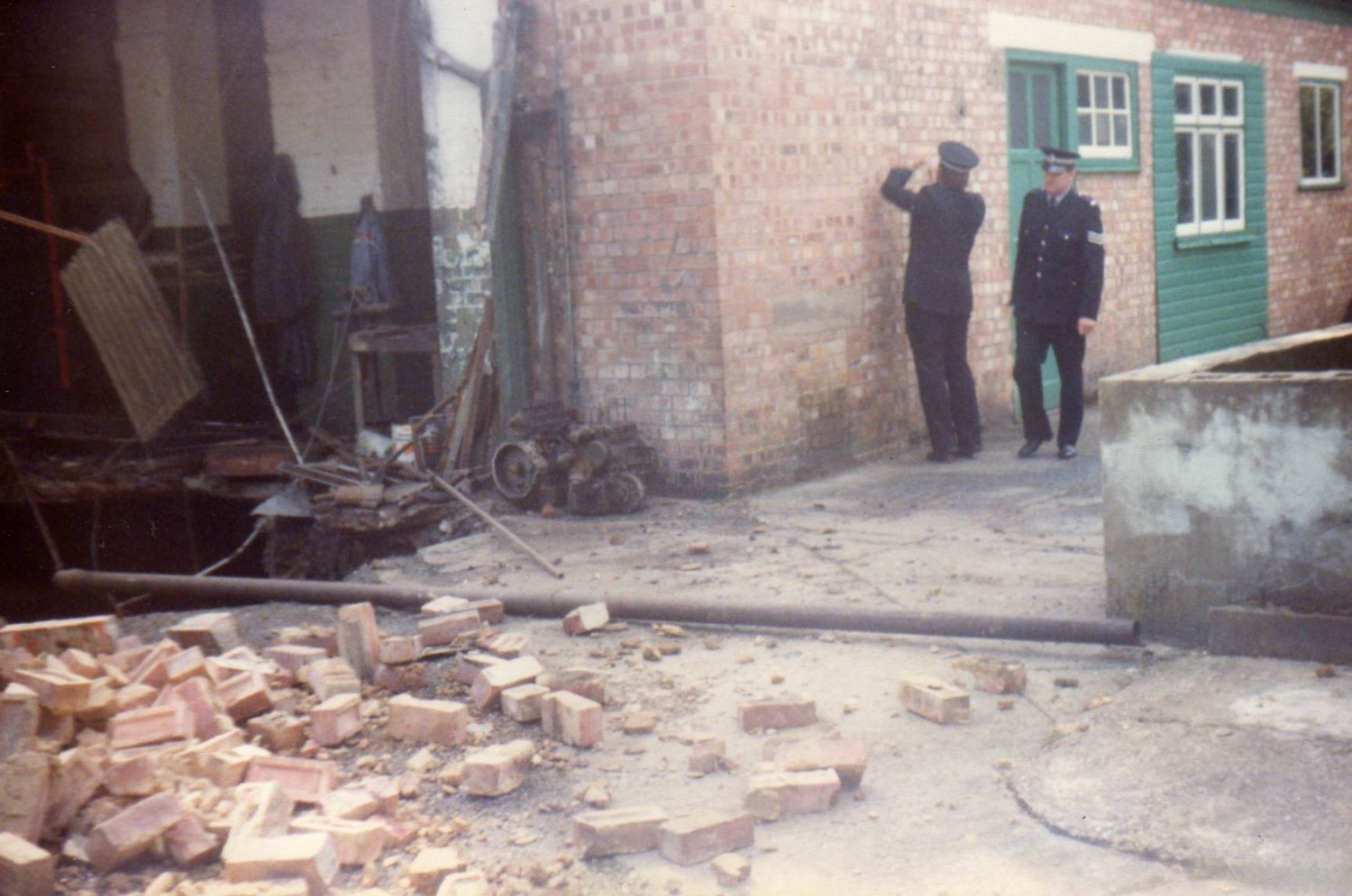 1983 Collapsed well shaft Woodhall Spa