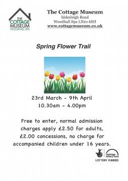 Spring Flower Trail Poster